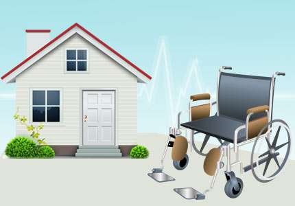Home Health Medical Supplies - Wheelchair
